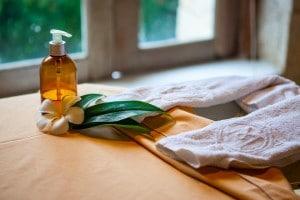 Pampering, Villa Sayang, Nusa Lembongan, Massage Room, Massage Treatments